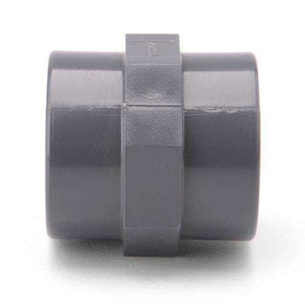 "2/"" 1//2 63mm Bore 6/"" x 16/"" Weld On Mild Steel  Silencer Exhaust Box Body"