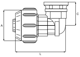 Female Elbow Adaptor