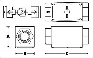 gpi-g2b-brass-flow-meter-diagram