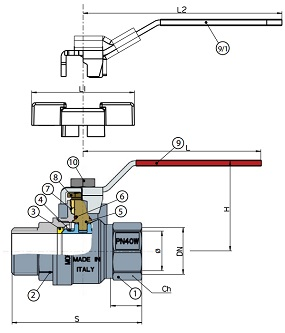 albion-ballvalve-art46-diagram
