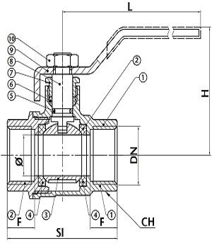 albion-ballvalve-art54-diagram