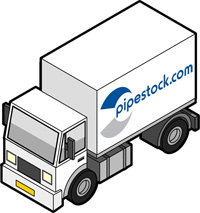 Delivery from Pipestock