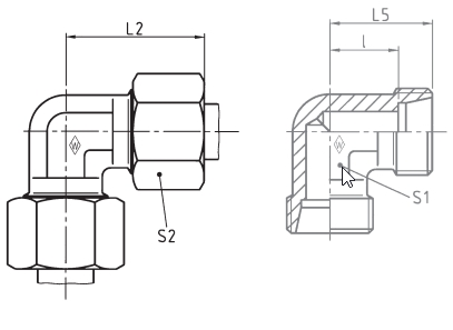 Eaton Elbow 90 LL Series