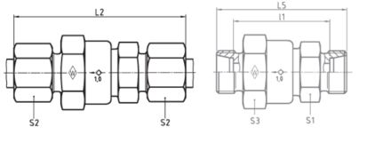 Eaton Non-return valve L