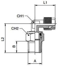 KM-BQF-Swivel-Male-Studs-Elbow-BSPT