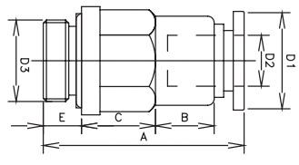 check valve tube x bspt