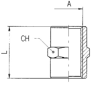 km npba female sockets bspp diagram