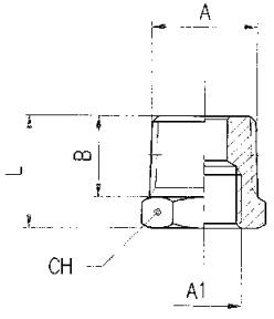 km npba reducing bush bspp x bspp/metric diagram