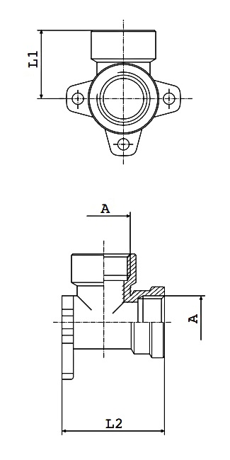km-npba-wall-bracket-bspp-diagram