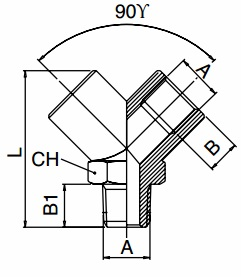 km-npba-y-connector-male-inlet-diagram