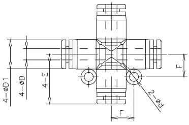 cross tube x tube 16bar