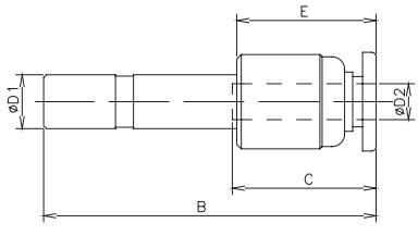 connector tube x stem 16bar
