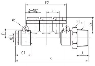 reducing manifold metric x npt