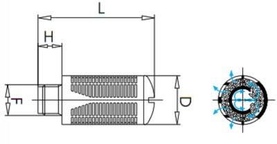 KM-Silencer-Plastic-Granular