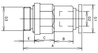 tube x bspt stop valve