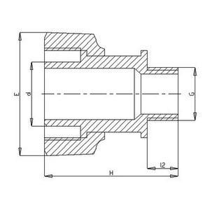 modular adaptor male