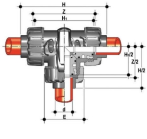 dp 3 way ball valve t port diagram