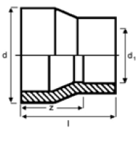 PPh reducing bush diagram