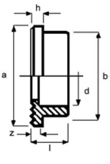 PPh stub flange diagram