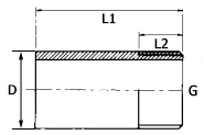 PVC-barrel-nipple-thread-plain