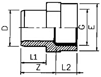 Adaptor-metric-plain-thread