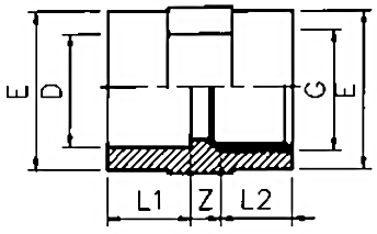 PVC-Socket-Plain-Threaded