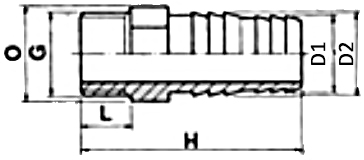 PVC Threaed Hose Adaptor