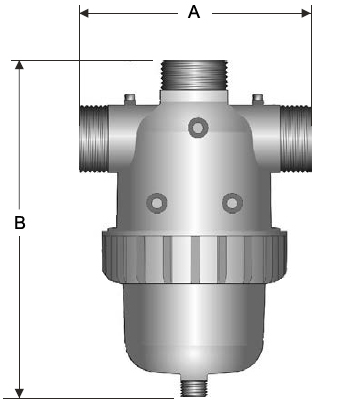 Single Body Disc Filter