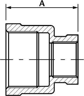 Reducing Socket - Stainless Steel Fittings